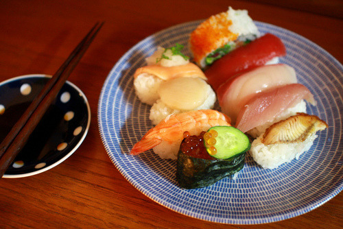 calorie-gallery:   Follow me for more HD picture of your fav. food ! :) #SushiSpam