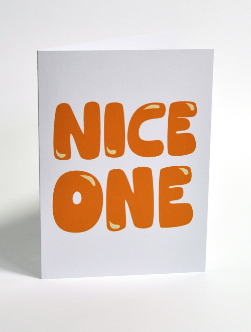 Nice one card - Lovely Jojo's