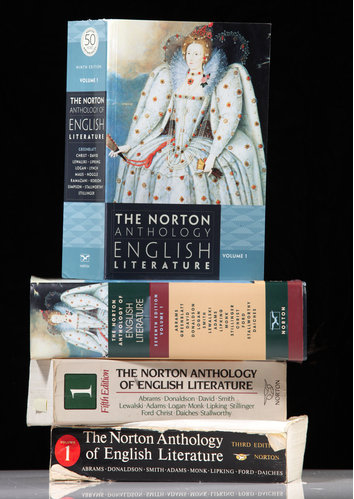 On the fiftieth anniversary of the Norton Anthology of English Literature, the New York Times interviewed M. H. Abrams (the founding general editor) and Stephen Greenblatt (the current general editor). New York Times: For a prospective undergraduate reading this Q. and A., how would you answer the question, Why study literature? Abrams: Ha — Why live? Life without literature is a life reduced to penury. It expands you in every way. It illuminates what you're doing. It shows you possibilities you haven't thought of. It enables you to live the lives of other people than yourself. It broadens you, it makes you more human. It makes life enjoyable. There's no end to the response you can make to that question, but Stephen has a few things to add.  Greenblatt: Literature is the most astonishing technological means that humans have created, and now practiced for thousands of years, to capture experience. For me the thrill of literature involved entering into the life worlds of others. I'm from a particular, constricted place in time, and I suddenly am part of a huge world — other times, other places, other inner lives that I otherwise would have no access to. Read the full interview. Follow @NortonAnthology on Twitter.