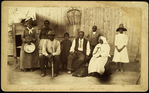 vintageblackbeauty:  Harriet Tubman with her friends at the Home for the Aged and Indigent Negroes. Auburn, NY 1887