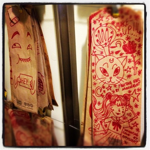 Sailor Moon Which Wich art! (Taken with Instagram)