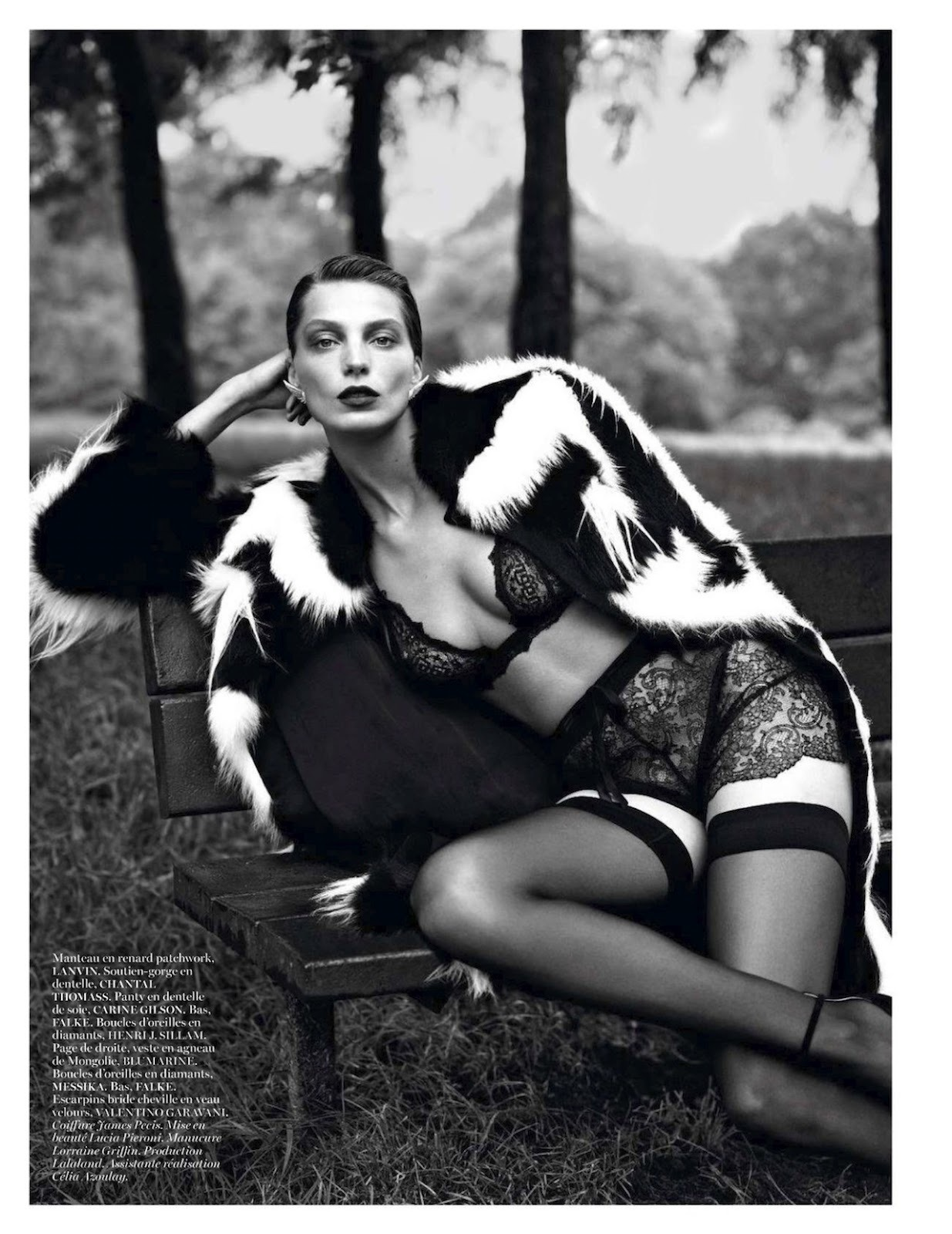 VOGUE Paris September 2012 Daria Werbowy by Mert Alas & Marcus Piggott