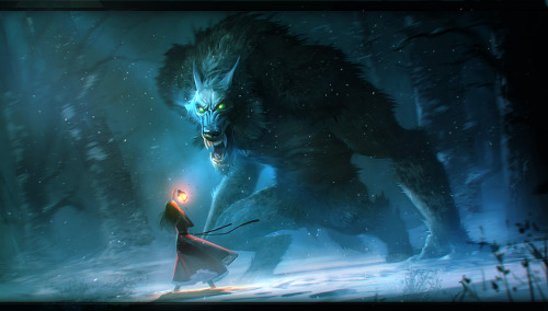 The Werewolf by ~Niconoff —-x—- More: | Werewolf| Random |