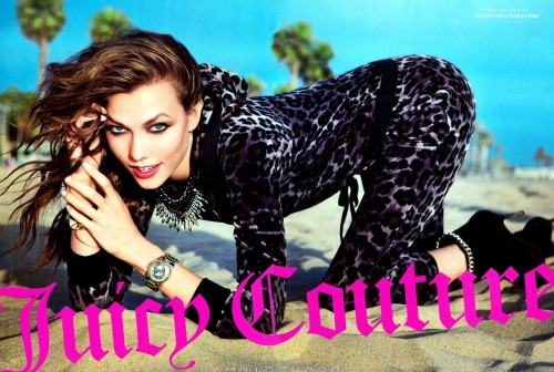 Karlie Kloss for Juicy Couture Fall Campaign