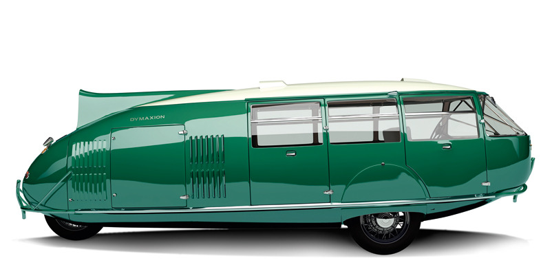 jaymug:  Dymaxion Car - Gregory Gibbons.