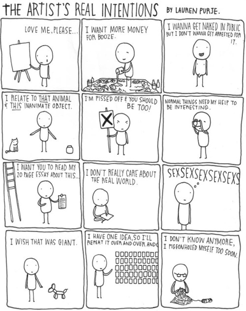 (via The Artist's Real Intentions: A Comic Strip)
