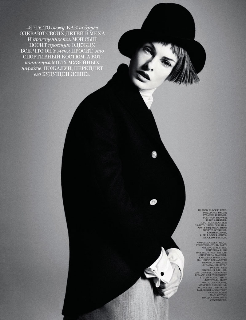 Interview Rusia Septiembre 2012 Linda Evangelista por Daniele & Iango. Estilismo de Patti Wilson. ….. Interview Russia September 2012 Linda Evangelista by Daniele & Iango. Styling by Patti Wilson.