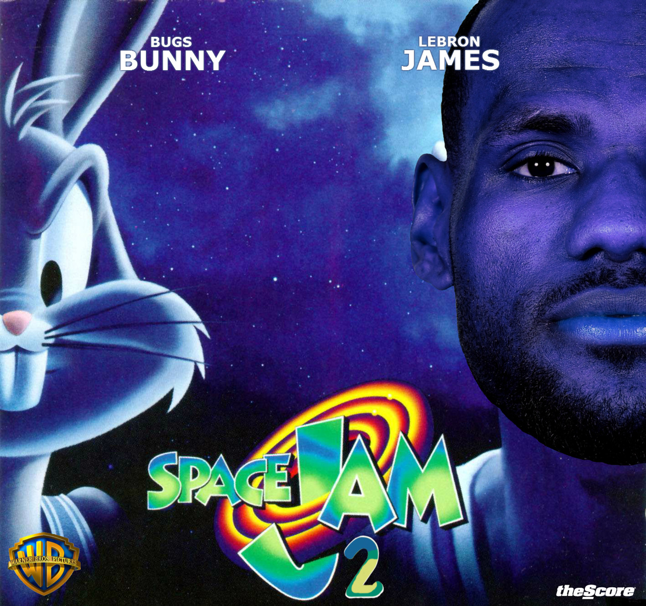 This would be AWESOME… Space Jam 2 starring Mr. LeBron James.