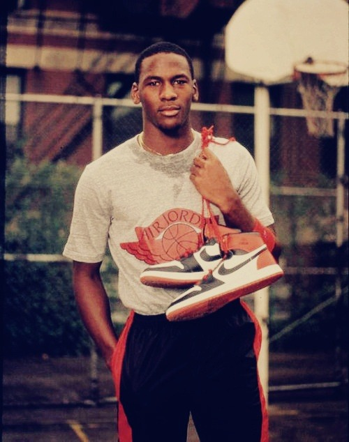 His Royal Flyness & Airness, aka Mr. Space Jam, better known as the the greatest basketball player of all time, Michael Jordan