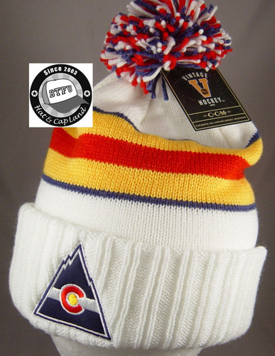I need more nhl bobble beanies like this… Hit me up if you know where I can get them in the uk please :)