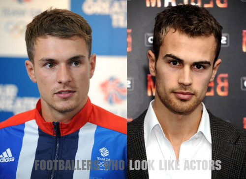 Aaron Ramsey / Theo James
