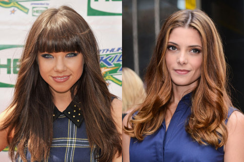 Beauty battle! Carly Rae Jepsen and Ashley Greene were both spotted rocking dusty rose lip gloss. Tell us who wore it best here »