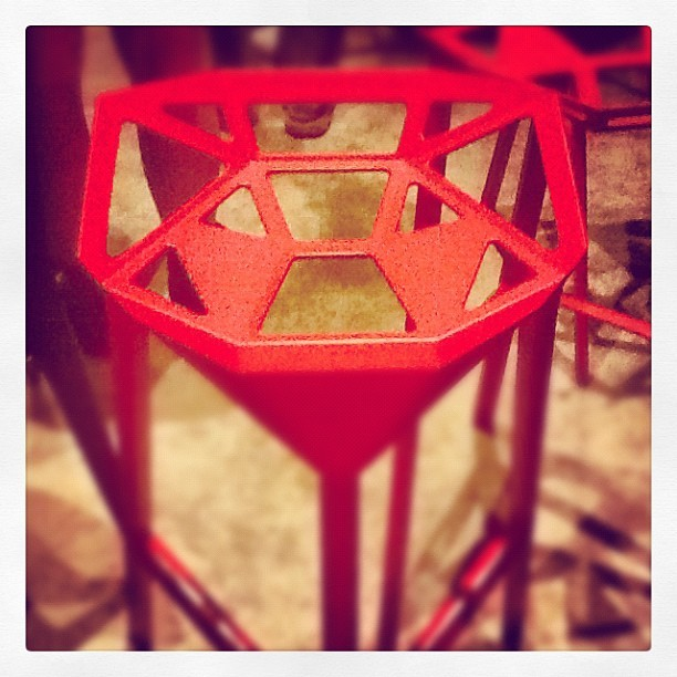 Love the seating at Wurstkuche downtown! #design #art #color #cool (Taken with Instagram at Wurstküche)