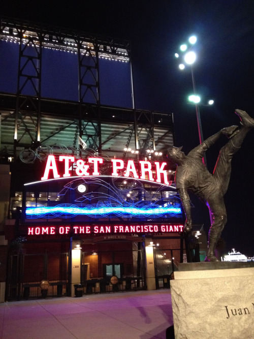Good night from AT&T Park.