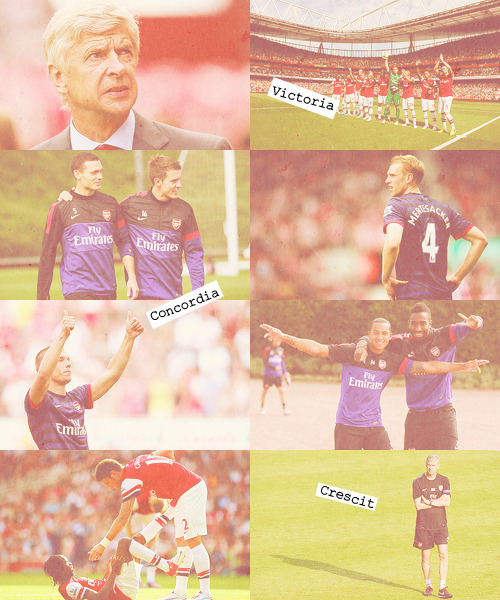 lovelydrewz:   Victory Through Harmony                     - Arsène Wenger