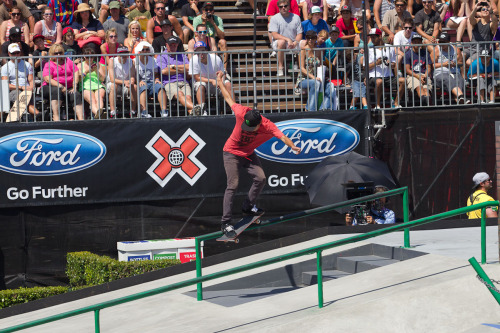 Huston, we have no problem. Nyjah wins the Street League final -> http://es.pn/Oqk61J