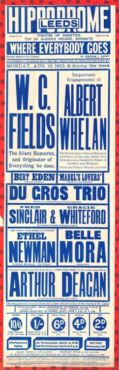 newmanology:  Leeds Theatre Poster (UK) Source: Flyer Design Goodness