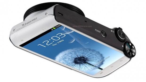 Rumor: Samsung working on a camera based on Galaxy S III