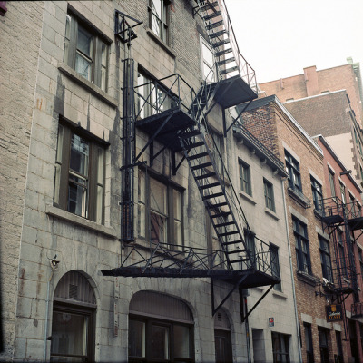 Staircase on Flickr. Yashica MAT 124G on kodak portra 160