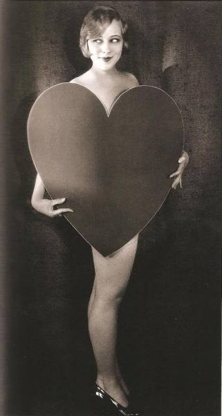 retrogasm:  Sally Rand has a heart on for you…