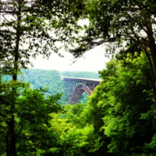 jasonrobertcarroll:  The New #River #Gorge #bridge. #WestVirginia (Taken with Instagram)