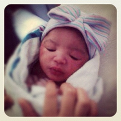Welcome to the world….Jordyn Na'Shaa.♍ (Taken with Instagram)