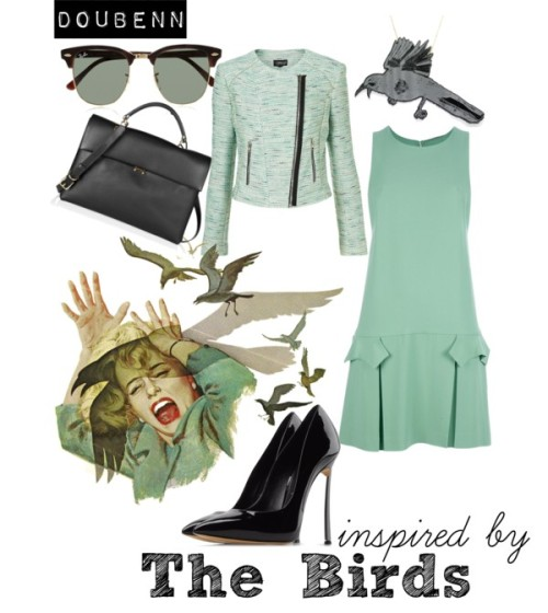 The Birds by doublenn featuring casadei pumps