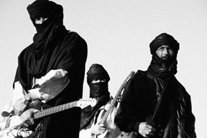 (via Respected Tuareg Band Terakaft to Present Kel Tamasheq in the American Midwest | World Music Central.org) One of the finest Tuareg bands, Terakaft, returns with new songs featuring its unique Saharan sound. Kel Tamasheq is the follow up to 2011′s Aratan N Azawad. This new project is produced by Justin Adams – Robert Plant guitarist, Tinariwen producer, and World Village artist – who proves a good match for the band's raw, authentic style. Midwestern Tour 9/20 Minneapolis, MN – The Cedar 9/21-22 Cedar Rapids, IA – Landfall Festival 9/23-24 Chicago, IL – World Music Festival