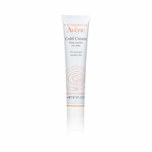 Avene Cold Cream with thermal spring water provides protection, hydration and comfort to extremely dry, sensitive skin. This highly penetrating cream protects against moisture loss, keeping the skin plump and supple. More details available here: Avene Cold Cream FREE SHIPPING + 45 DAY RETURNS