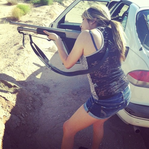 Shot gun status !!! (Taken with Instagram)