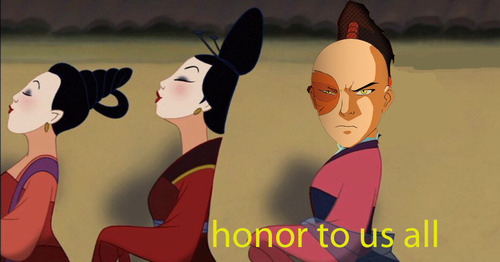 rainbowfairyprincess:  bamf-beifong:  THIS IS THE BEST ZUKO X HONOR POST EVER EVERYONE ELSE GO HOME  DYING