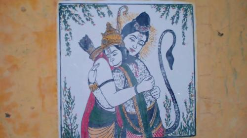 Sri Ram and Hanuman :)