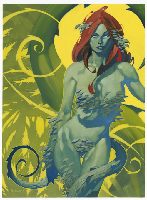 Poison Ivy // artwork by Chris Stevens (2012)