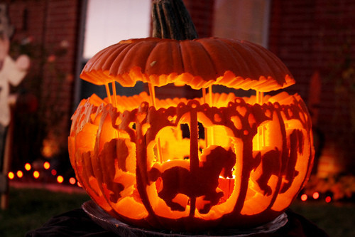 waltzingmatildablog:  Possible jack o' lantern for this Halloween.