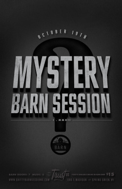 Mystery Barn Session No. 1 (by EFG!)