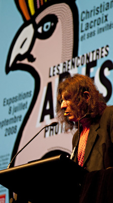 Flashback to 2012 Michel Bouvet speaking about his work distinctive work. Take a look.