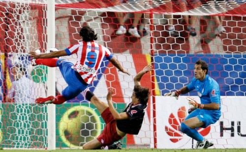 Radamel Falcao vs Athletic Bilbao, 27 de Agosto de 2012