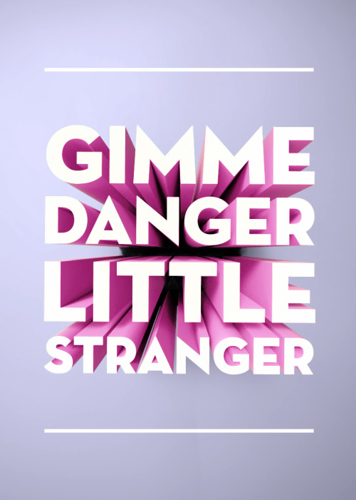 betype:  Lyrics by Iggy And The Stooges - Gimme Danger Submitted by clairehellblaue