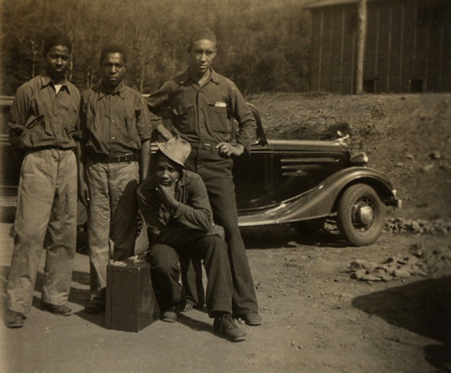 Farewell Fellas 1930's-40's [Franklin Family Album] ©WaheedPhotoArchive, 2012