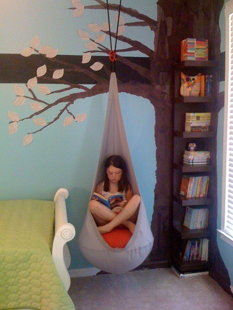 booksdirect:  Children's reading nook.