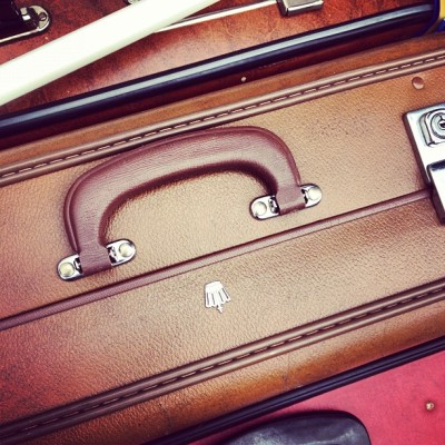 I love old #luggage » #travel #obsession  (Taken with Instagram)