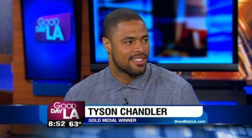 VIDEO: Tyson Chandler Joins Good Day L.A.