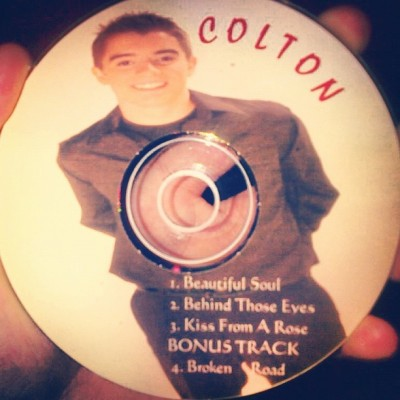 "hell-yeah-midnight-red:  ""@ColtonRudloff: Haha my first demo. Damn, thought I was cool enough for a bonus track?"" Ohh dear. Lol  Gimme!"