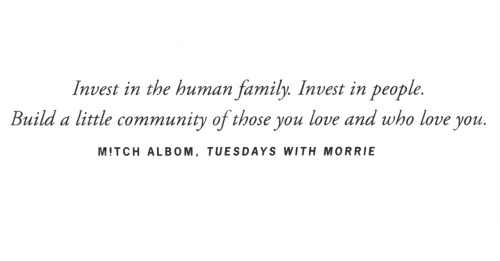 can't put 'Tuesdays With Morrie' down. its such a great book.