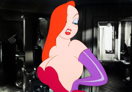 "notanormalboi:  vintagegal:  Who Framed Roger Rabbit? (1988)   ""I'm not bad. I'm just Drawn that way!"""