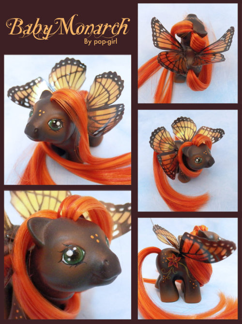 baby monarch by ~pop-girl http://fav.me/d5cry14