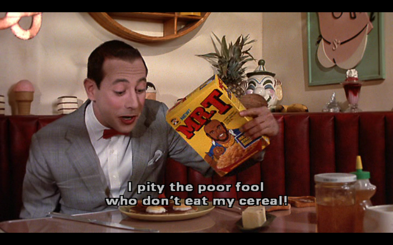 oldfilmsflicker:  Pee-Wee's Big Adventure, 1985 (dir. Tim Burton)