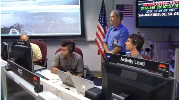 Bobak Ferdowsi and the JPL guys