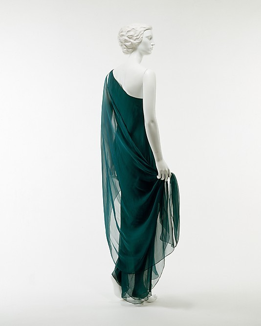 omgthatdress:  Dress Halston, 1970s The Metropolitan Museum of Art
