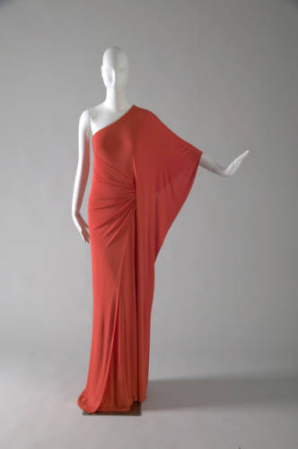 omgthatdress:  Dress Halston, 1976 The Chicago History Museum